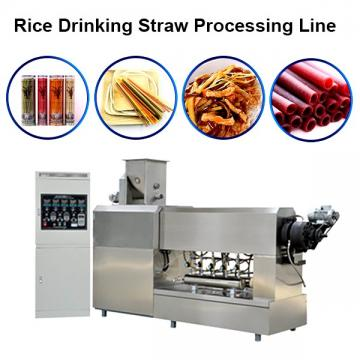 Factory Price Full Automatic Pasta Straw Machine/Macaroni Making Machine/Processing Line