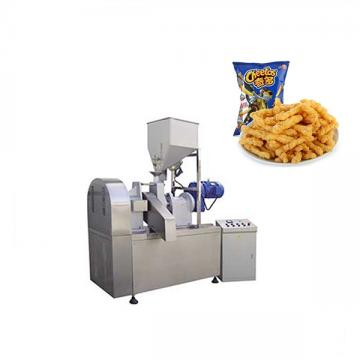 Most Selling and High Quality Automatic Kurkure Snacks Food Production Line with Two Types 2018 Hot Sale High Quality Rotary Head Cheetos Process Machine