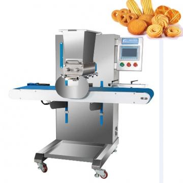 Extruded Fried Snack Food Machinery Wheat Flour Crispy Chips Making Production Line Pastelzinho Tipo Torcida Funny Ball Fried Dough Snack Machine
