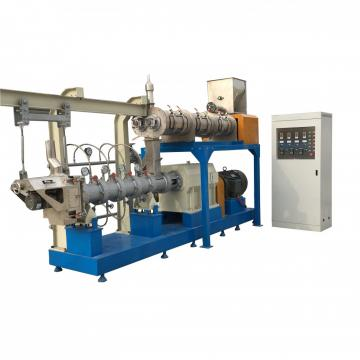 China Factory Supplied Top Quality Floating Fish Food Fellet Machine Processing Line