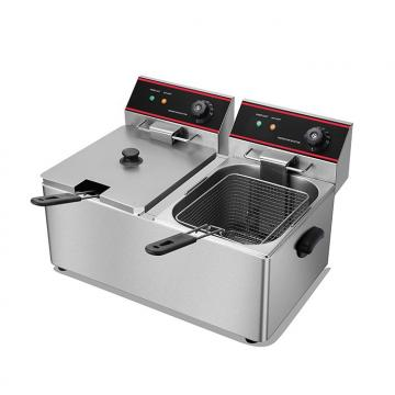 Electric Heating Double Sieve Electric Chicken Commercial Deep Stainless Steel Fryer
