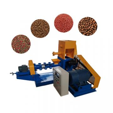 Small Animal Fish Dog Fish Pet Food Extruder Machine